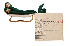 bamboo socks green soft bonsai gift package
